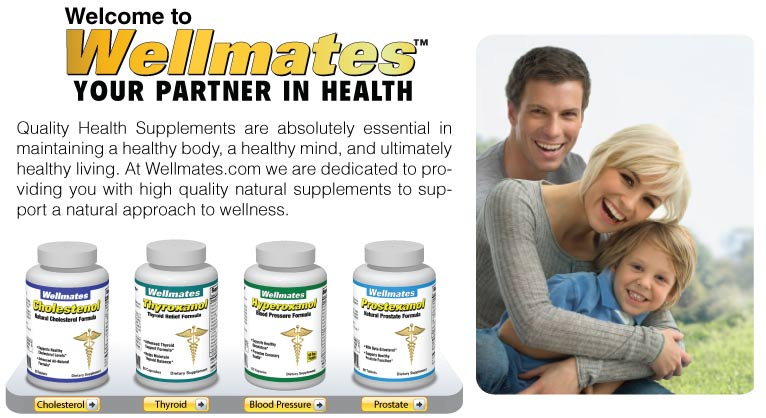 Welcome to Wellmates.com.   Your partner in health.