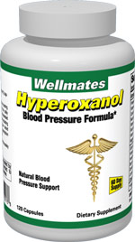 Hyperoxanol Natural Blood Pressure Formula Bottle Shot